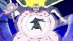 Jinbe attacca Big Mom