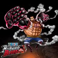 One Piece Burning Blood Gear Fourth Luffy (Artwork)