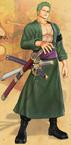 Zoro Pasca Skip Pirate Warriors 2