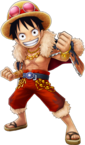 Luffy Will of Fire Costume Thousand Storm