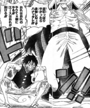 Luffy and Whitebeard
