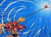Luffy vs franky