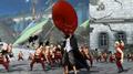 Pirate Warriors 3 Shanks buvant du sake