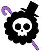 Brook's Pre Timeskip Jolly Roger