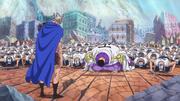 Fujitora Kneels Before Riku