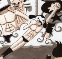 Unforgivable Mask Manga Infobox
