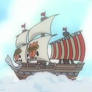 Barco de los Piratas Eraser