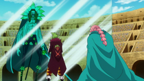 Bartolomeo blocks Diamante