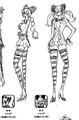Charlotte Décuplés Filles Manga Concept Art 2
