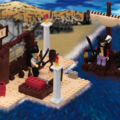 One Piece Mega Bloks Zoro & Mihawk