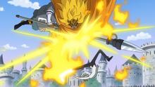 Sanji se bat contre son père