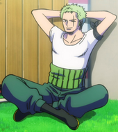 Zoro Stampede Outfit 3