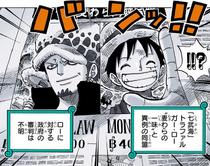Газета с новостями об альянсе пиратов Сердца и Мугивар