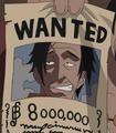Cartel de recompensa de Higuma