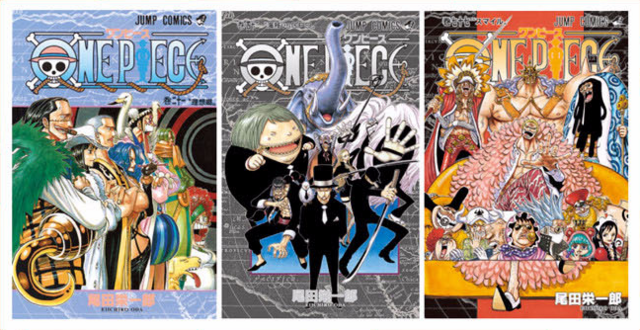 File:Non Luffy Volume Covers.png