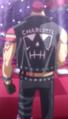 Parte posterior de la chaqueta de Katakuri