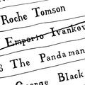 Roche Tomson y George Black portrait