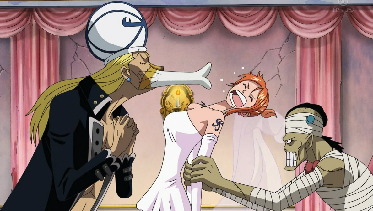 Absalom trying to marry nami png