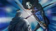 Brook Fights Ryuma