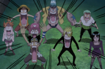 The Straw Hat Crew are Shocked