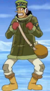 Usopp's Ice Hunter Arc Outfit