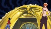 Visage d'Or de l'Arche Maxime