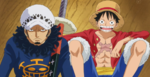 Luffy with Law