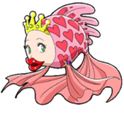 Princesse des Poissons Rouges Ocean Dream