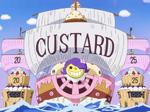 卡斯塔德的船艦
