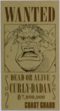 Dadan's Wanted Poster Coast Guard