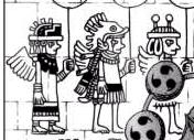 Desenho Antigo das Pessoas do Céu