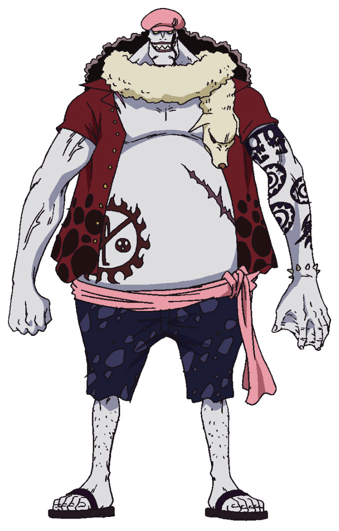 Hody Jones Anime Concept Art