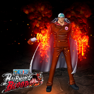 One Piece Burning Blood Pre-Timeskip Sakazuki (Artwork)