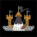 Piratas Fire Tank bandera