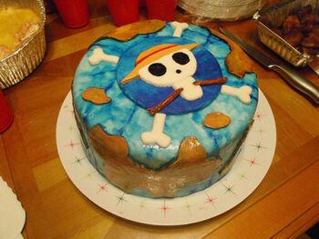 Praxis cake one piece400