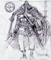 Primer boceto de Dorry