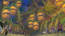 Straw Hat Pirates Arrive at Right Belly Fortress