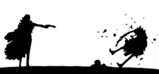Doflamingo asesinando a Rosinante