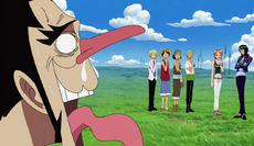 Foxy Being Rejected by the Straw Hats