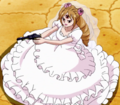 Pudding's in Her Wedding Dress