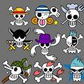 Straw Hat Pirates Pre-Timeskip Jolly Rogers.jpg