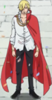 Vinsmoke Sanji Royal Cape