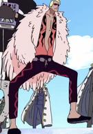 Doflamingo's Original Anime Color Scheme