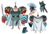 Franky Stampede Outfit