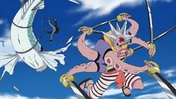Hacchan vs Tobiuo Riders