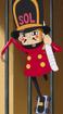 Kyros sebagai Prajurit Guntur di Anime