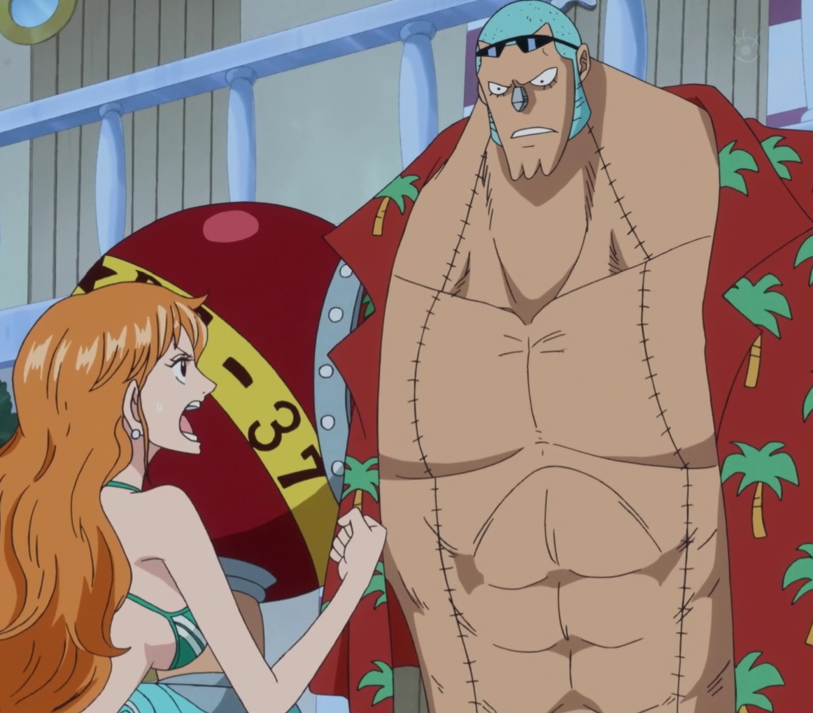 Image - Nami Tells Franky to Use Coup de Burst.png | One Piece Wiki | FANDOM powered by Wikia