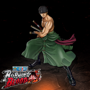 One Piece Burning Blood Shura Zorо (Artwork)