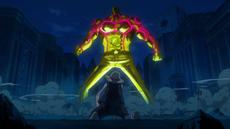 Tesoro se burla de Luffy