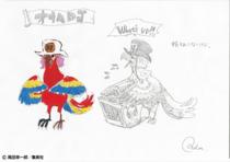 Concept Art Parrot DJ